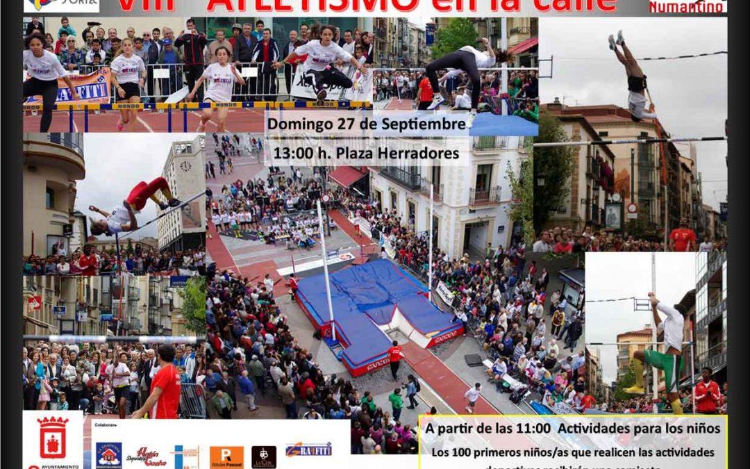 """VIII """"Atletismo en la Calle"""""""
