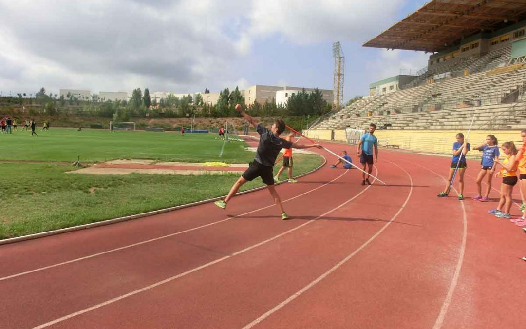 Tercer día del Campus Atletismo Numantino.
