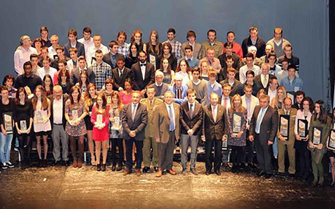 El Club Atletismo Numantino y sus atletas grandes protagonistas en la gala del atletismo de Castilla y León