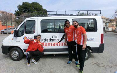 Fin de semana triunfal para los juniors del Numantino, con cuatro medallas en el nacional de pista cubierta.