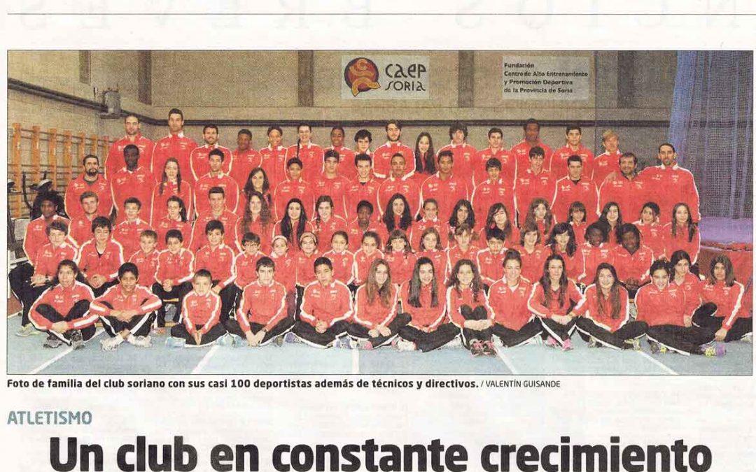 Buen Comienzo de las escuelas del Club Deportivo Atletismo Numantino