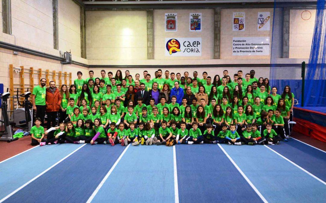 """Presentación del Club Atletismo Numantino Soria """"Pura Vida"""""""