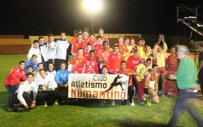 """El Club Atletismo Numantino """"Soria Pura Vida"""" Campeón de Castilla y León Junior"""